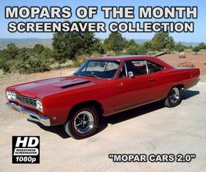 Mopar Cars Screensaver Version 2.0