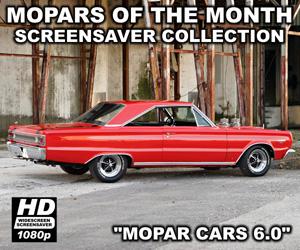 Mopar Cars Screensaver Version 6.0