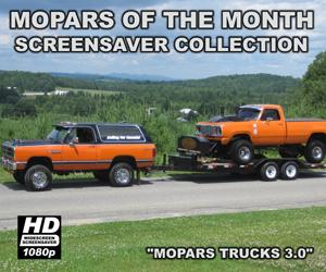 Mopar Trucks Screensaver Version 3.0