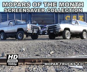 Mopar Trucks Screensaver Version 4.0
