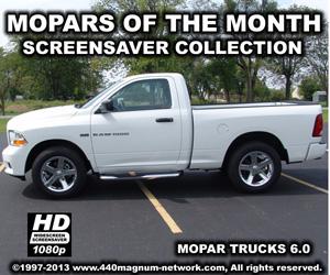Mopar Trucks Screensaver Version 6.0