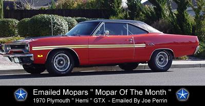 1970 Plymouth HEMI GTX By Joe Perrin
