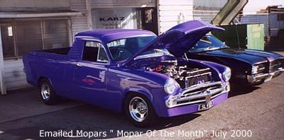 Mopar Of The Month - 1957 Chrysler UTE Custom By Jeff.