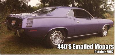 1970 Plymouth Cuda By Tom Mahady