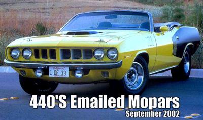 1971 Plymouth Cuda Convertible By David Nichols