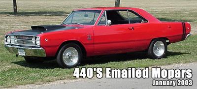 1968 Dodge Dart GTS By Tom Sheaks