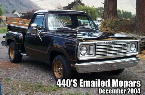 1977 Dodge Warlock Truck By Barry Regan
