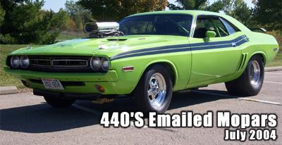 1971 Dodge Challenger R/T Clone By Tim Rusch