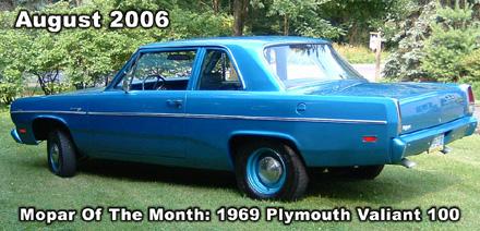 1969 Plymouth Valiant 100 By Terry Schmeltzle