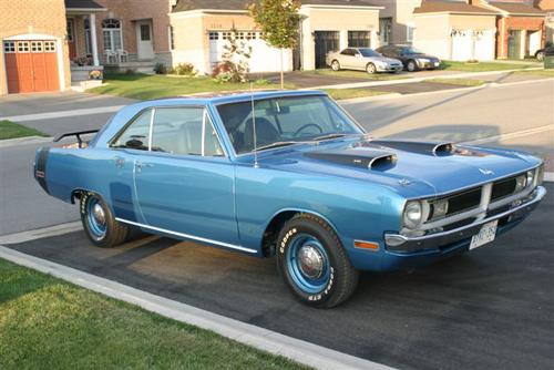 Dodge Dart 1970 Black