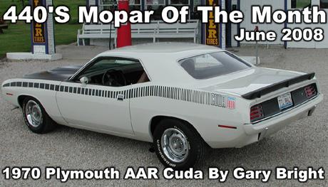 1970 Plymouth AAR 'Cuda by Gary Bright
