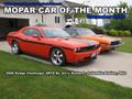 Mopar Car Of The Month - 2008 Dodge Challenger SRT8 By Jerry Stallard