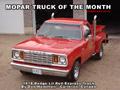 Mopar Truck Of The Month - 1978 Dodge Lil Red Express Truck.