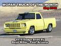 Mopar Truck Of The Month - 1975 Dodge D100 Truck By Boyd Miller