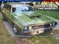 Mopar Car Of The Month - 1972 Dodge Coronet Wagon By Wayne Parks