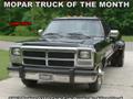 Mopar Truck Of The Month - 1993 Dodge D350 Club Cab Dually By Allen Lloyd