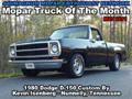 Mopar Truck Of The Month - 1980 Dodge Ram D-150 Custom By Kevin Isenberg.