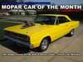 Mopar Car Of The Month - 1967 Dodge Coronet R/T By Allan & Denise Lundie.