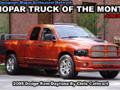 Mopar Truck Of The Month - 2005 Dodge Ram Daytona By Chris Cathcart.