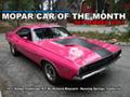 Mopar Car Of The Month - 1971 Dodge Challenger R/T