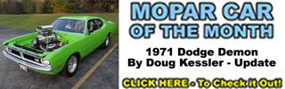 Mopar Car Of The Month - 1971 Dodge Demon