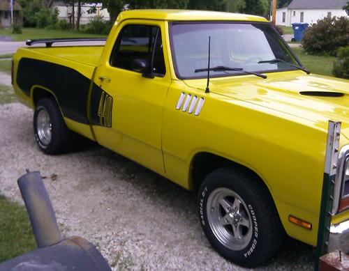D Byjmcqueen Up on 1984 Dodge 4 Door Truck