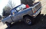1984 Dodge D100 4x4