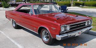 Mopar Car Of The Month - 1967 Plymouth GTX.