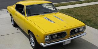 Mopar Car Of The Month - 1967 Plymouth Barracuda
