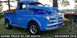 Mopar Truck Of The Month - 1950 Dodge B2B Pickup