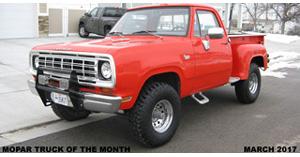 Mopar Truck Of The Month - 2005 Dodge Ram Daytona Truck