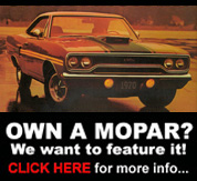 Get Your Mopar Featured