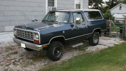 1982 Dodge Ramcharger