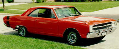 1969 Dodge Dart Swinger 340.