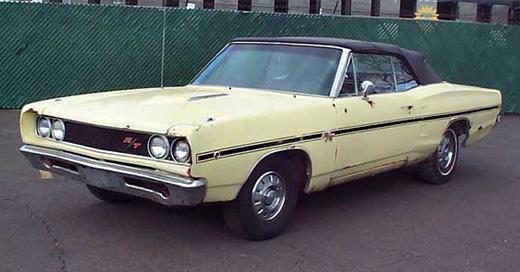 1968 Dodge Coronet R/T By Scott Nolin