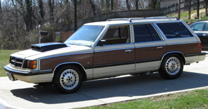 Mopar Car Of The Month - 1987 Dodge Aries Woody Wagon