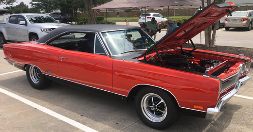 1969 Plymouth GTX By Kevin Arnold - Update