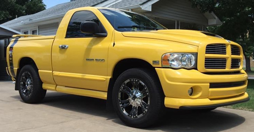 2004 Dodge Ram Rumble Bee By Clifford Steffey