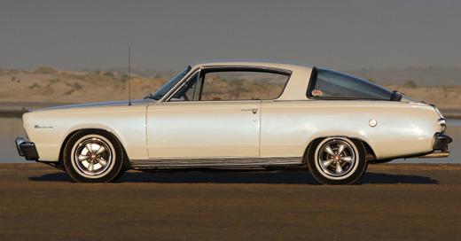 1966 Plymouth Barracuda By Noel Forsyth