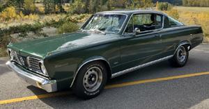 1966 Plymouth Barracuda By Alex Robic - Update