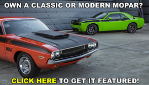 Own a Classic Or Modern Mopar?